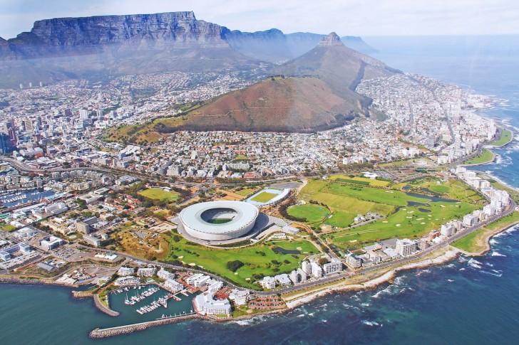 Кейптаун сверху