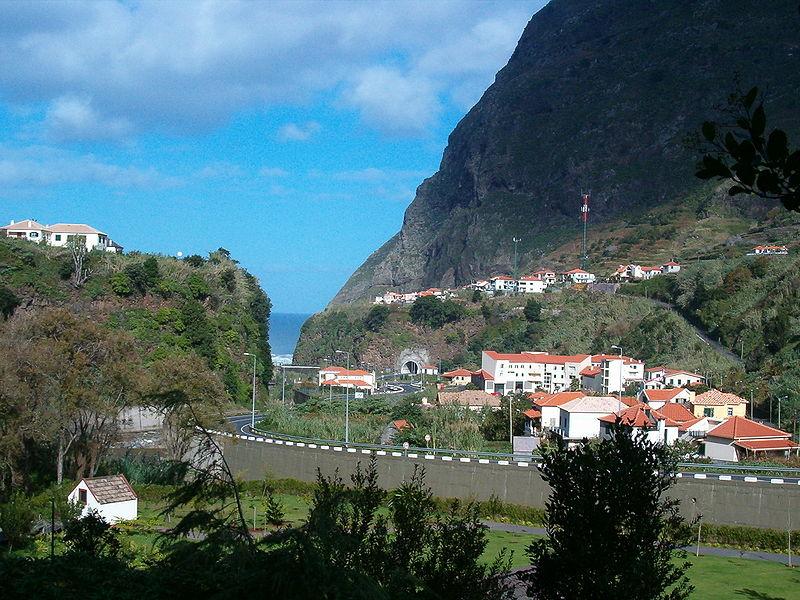 Сао-Висенте, Мадейра