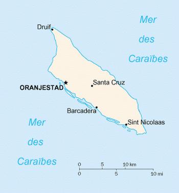 Карта Арубы