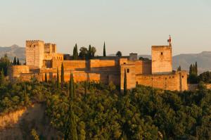Крепость Альказаба, Альгамбра