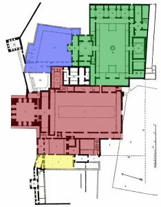 Карта дворца Альгамбра