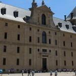 Дворец Эскориал, главный фасад