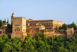 Крепость и дворец Карла V в Альгамбре