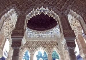 Потолок в Альгамбре