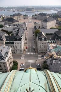 Вид на дворец Амалиенборг и гавань