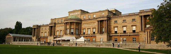Букингемский дворец, садовый фасад