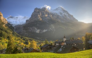 Эйгер, Швейцария, с восточной стороны