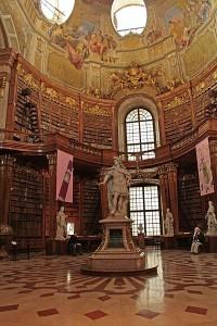 Библиотека Хофбурга, фото Pe-sa / Wikimedia Commons