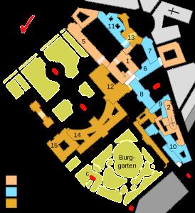 План Хофбурга, Bgabel
