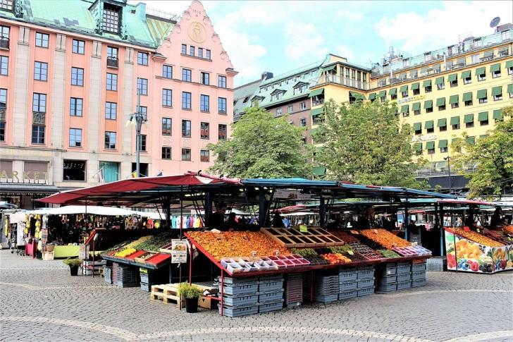 Стокгольм, рынок