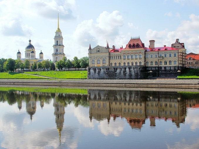 Рыбинск - одна из главных достопримечательностей Ярославской области