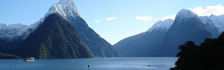 Милфорд Саунл, Новая Зеландия