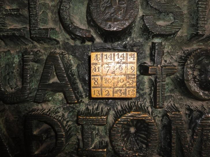 Квадрат Гауди в Саграда Фамилия