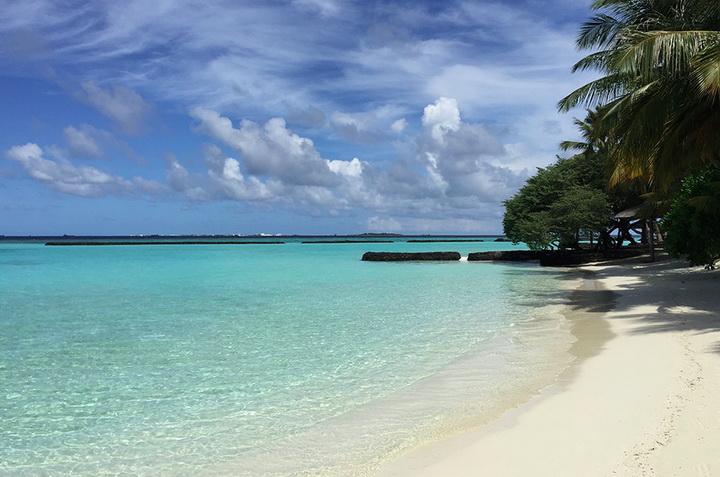 Maldives, Kurumb, океан