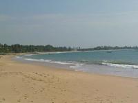 Тангалле, пляж