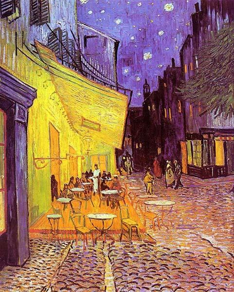 Ночная терраса кафе, Винсент Ван Гог