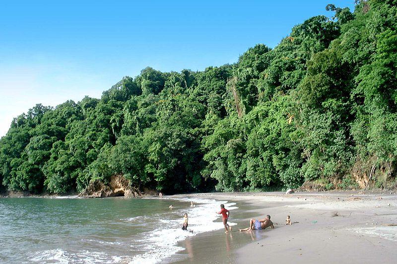 Остров Мартиника, пляж