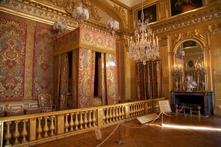 Спальня короля в Версальском дворце