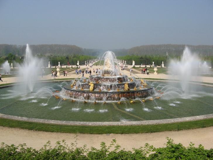Версальский парк, фонтаны