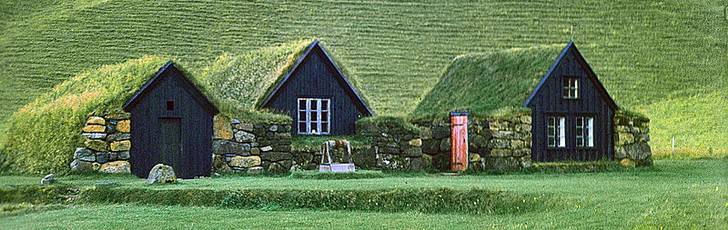 Исландия - карта