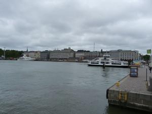 Хельсинки: порт и торговая площадь