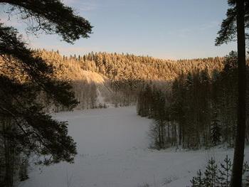 Зима в Суоми