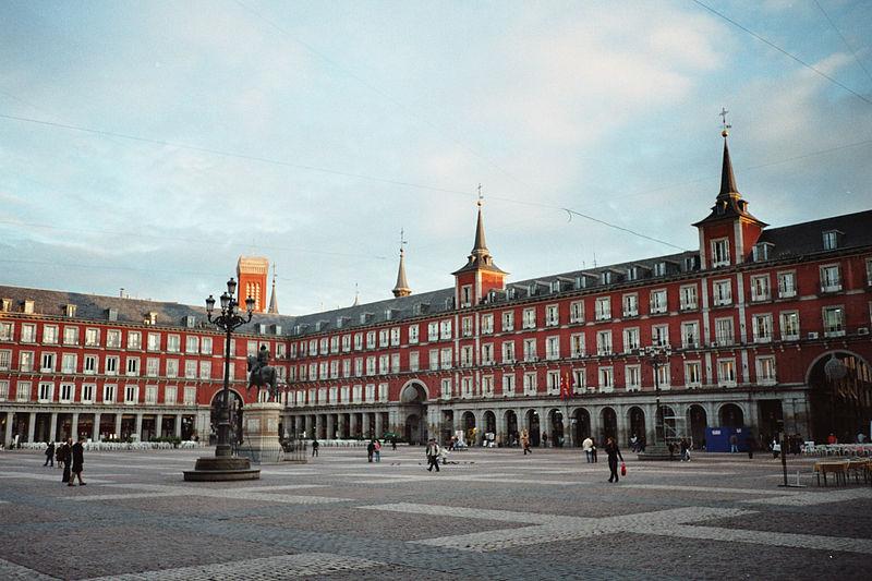 Плаза Майор в Мадриде