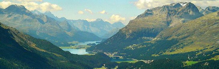 Энгадин, Швейцария