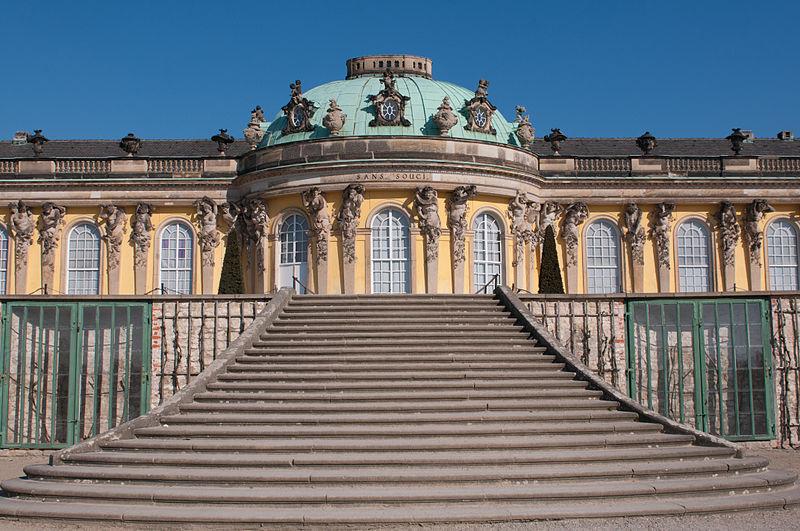 Дворец Sanssouci