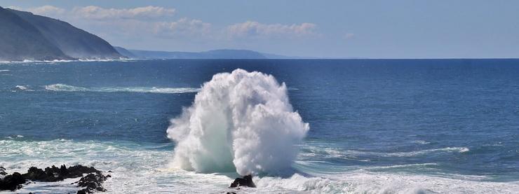 Южная Африка, океан