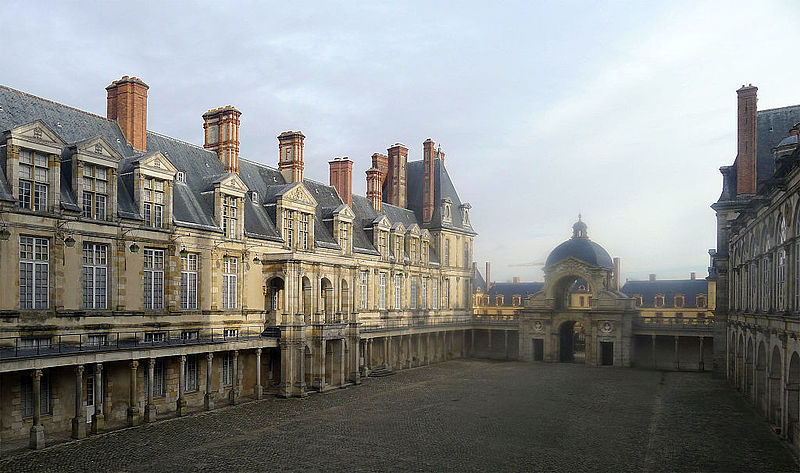 Fontainebleau, chateau, Fontainebleau, chateau, фото Mbzt / Wikimedia Commons