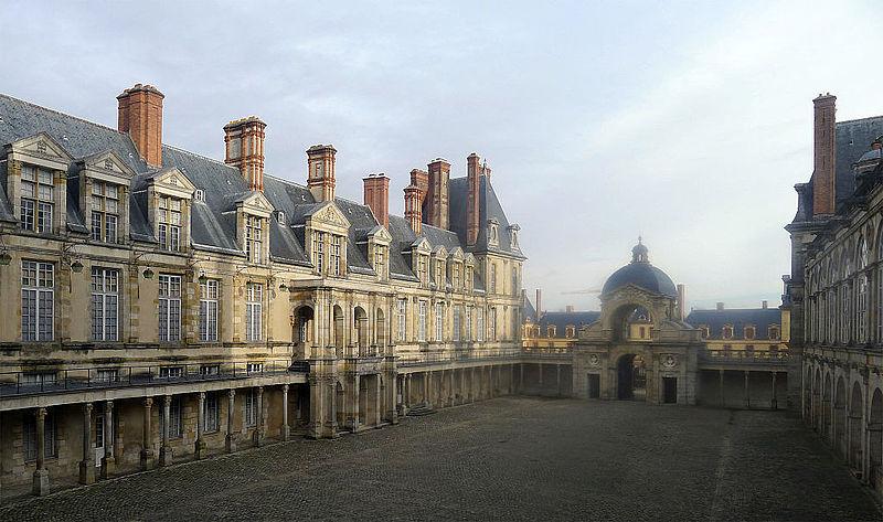 Fontainebleau, chateau, Fontainebleau, chateau, фото Mbzt / Wikimedia Commons