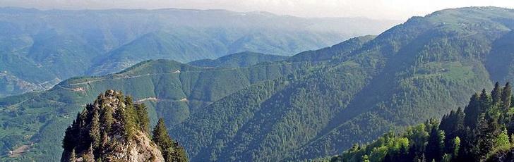 Понтийские горы - география Турции