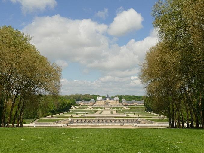 Парк и дворец Во-ле-Виконт