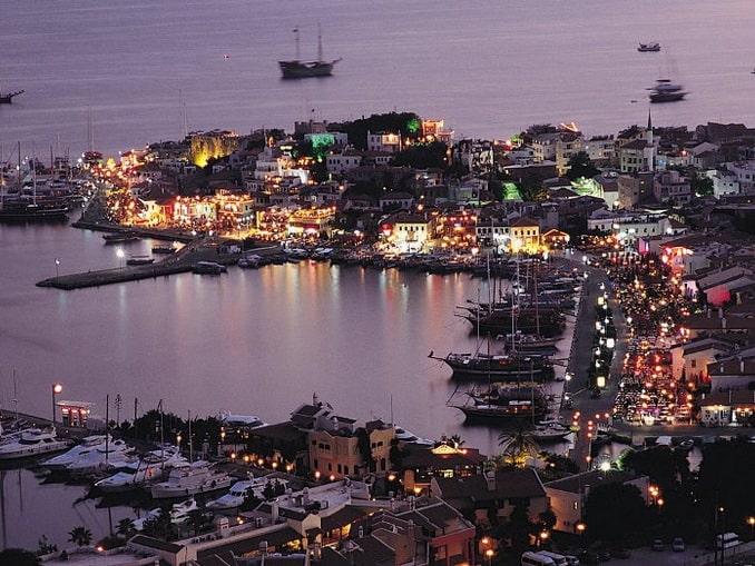 Вечерний Мармарис, Турция