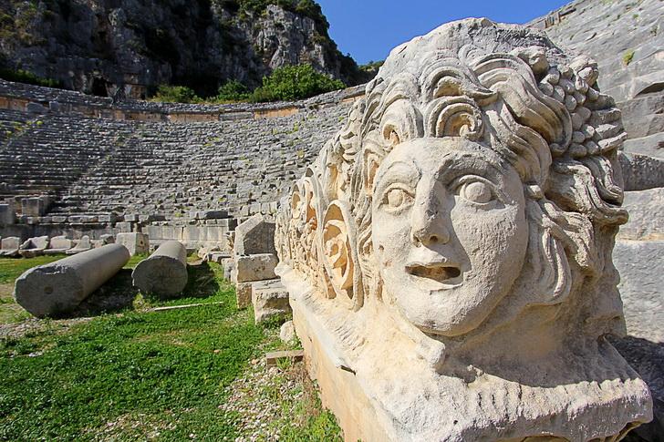 Амфитеатр в Мире, Турция