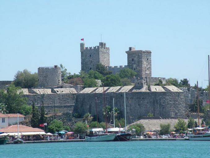 Замок святого Петра в Бодруме, Турция