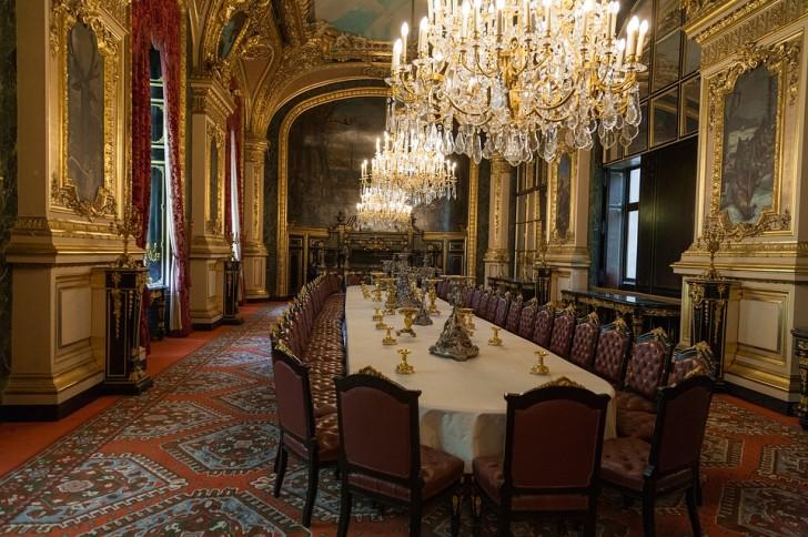 Апартаменты Наполеона III в Лувре