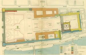 План Лувра начала 20 век