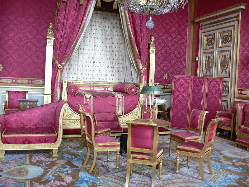 Компьенский дворец, апартаменты
