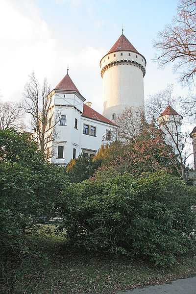 Конопиште, фото Petr1868 / Wikimedia Commons