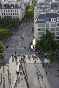Вид из Центра Помпиду