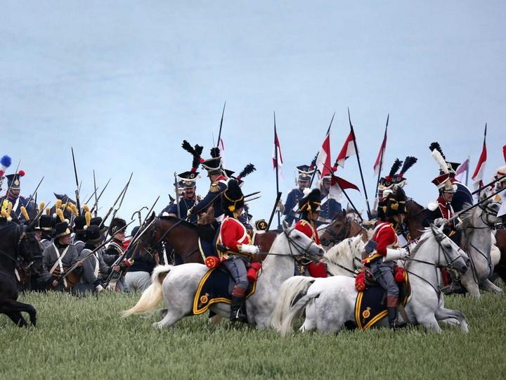 Битва при Ватерлоо, реконструкция