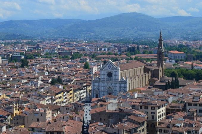 Базилика Санта-Кроче Флоренция