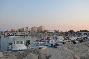 Ларнака, порт, фото Valantis Antoniades / Wikimedia Commons