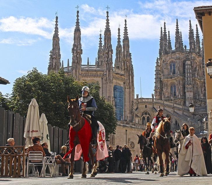 Бургосский собор и рыцари