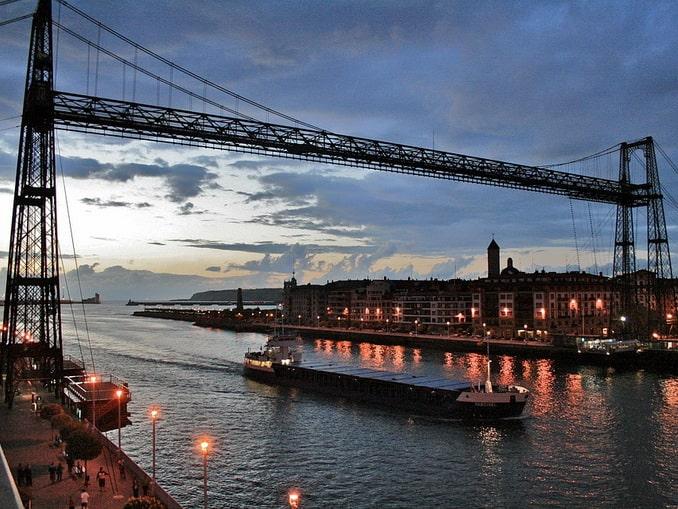 Бискайский мост в Бильбао
