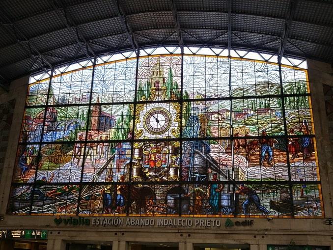 Вокзал Bilbao-Abando Indalecio Prieto