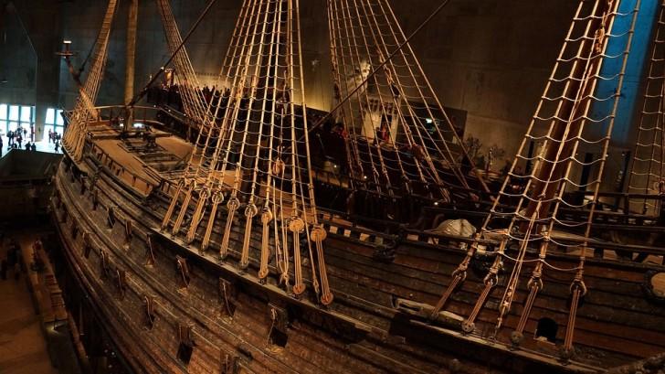 Корабль Васа, Стокгольм
