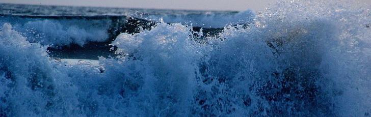 Акапулько, волны